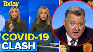 MP Craig Kelly clashes with Ally over COVID-19 claims   Today Show Australia