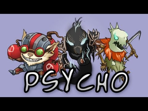 Am I a Psycho? - Badministrator, Collective, Cody, SonnyPsydup [League of Legends Parody]