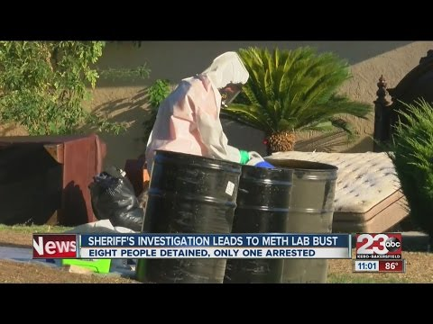 Meth house discovery in SW Bakersfield