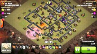 VL Clash of Clans fancy attack's style