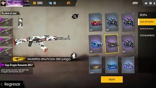 Mi colección de cajas de armas sin abrir!!!! | FREE FIRE