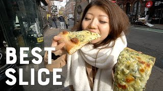 Trying FAMOUS New York Pizzas For the First Time