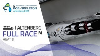 Altenberg | BMW IBSF World Championships 2020 - 4-Man Bobsleigh Heat 3 | IBSF Official