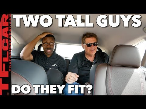 Do Two Very Tall Guys Fit in The 3rd Row Of The New 2018 Lexus RX L?