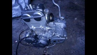 Réféction complète moteur Yamaha 250 WRF 2004