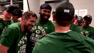 Packers Celebrate 12th Win vs. Vikings For The NFC North Title!