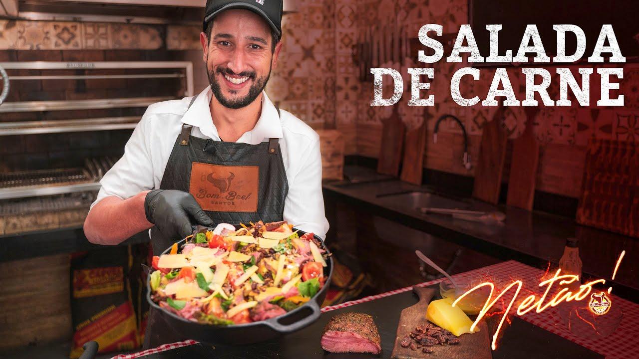 A salada mais incrível que vc já comeu na vida! | Netão! Bom Beef #93