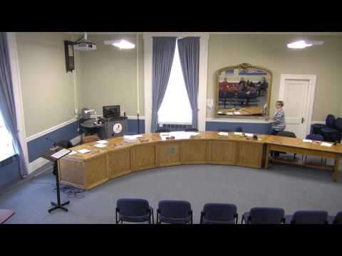 City of Plattsburgh, NY Meeting  3-2-17