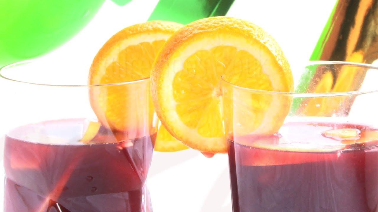 Rezept: Spanische Sangria selber machen - YouTube
