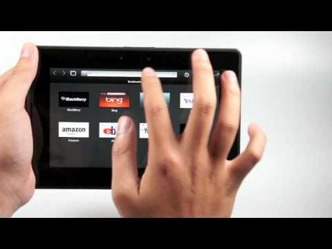 Tinhtevn - Sơ lược BlackBerry PlayBook