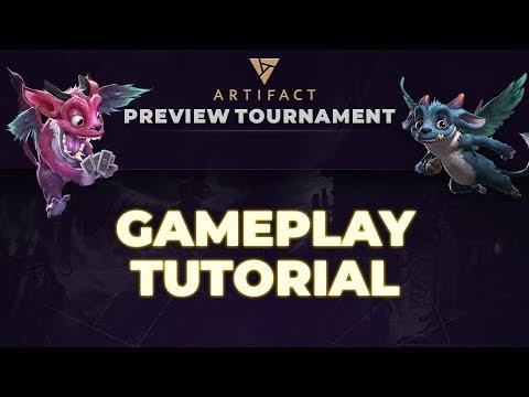 Artifact Gameplay Tutorial | Artifact Preview Tournament