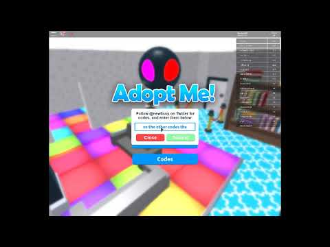 roblox adopt me codes 2019 july