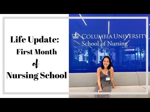 First Month of Nursing School at Columbia University!!!~~ - YouTube