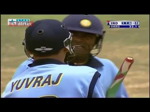 ** Rare ** India vs Australia ICC Knockout 2000 HQ Highlights
