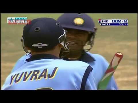 ** Rare ** India Vs Australia ICC Knockout 2000 HQ Highlights ** Thank You Yuvraj ** Singh Is King