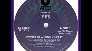 Yes ‎-- Owner Of A Lonely Heart acapella