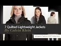 7 Quilted Lightweight Jackets By Calvin Klein Amazon Fashion 2017 Collection