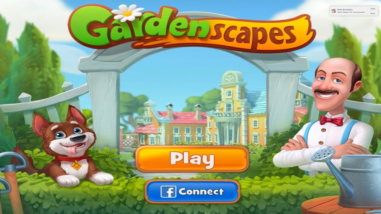 Gardenscapes Game Free Download Myrealgames Com Download Lengkap