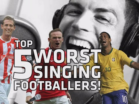 Top 5 WORST singing footballers ► Sure, you will laugh at Ronaldo