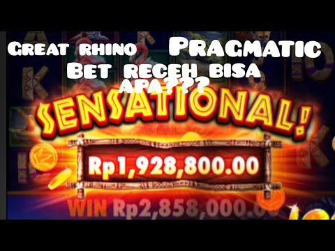 bet-receh-bisa-apa???-great-rhino-pragmatic-agen138-#slot-#slotonline-#slotjackpots
