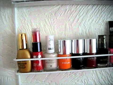 Nail polish storage idea!