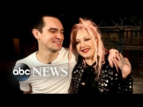 How Cyndi Lauper helped Panic!'s Brendon Urie star in 'Kinky Boots'