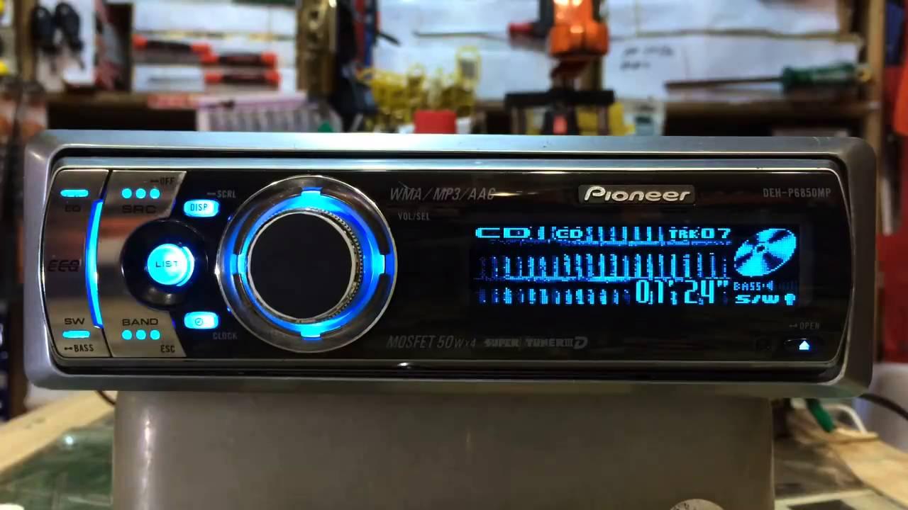 Pioneer deh - 6850mp