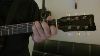 """Bruno Mars - """"When I Was Your Man"""" How to Play Guitar (Easy!! Guitar Tutorial!!)"""