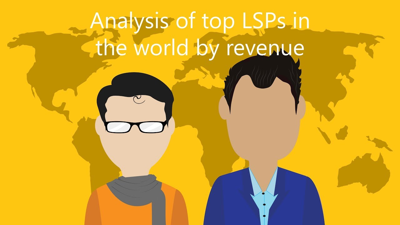 Webinar: Analysis of top LSPs in the world by revenue - Nimdzi