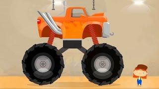 Secret Monster Truck. Un сuarto secretо de Doctora  McWheelie.