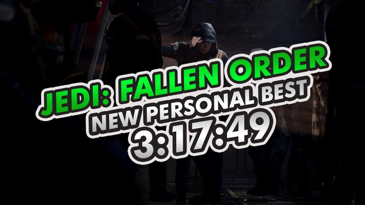 Star Wars Jedi: Fallen Order Speedrun in 3:17:49 PERSONAL BEST! (full run) #1