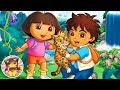 DORA AND DIEGO - 30 exercise games in Nickelodeon Fit HD also Kai-lan, and the Backyardigans