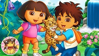 DORA AND DIEGO - 30 exercise games in Nickelodeon Fit [HD] (also Kai-lan, and the Backyardigans)