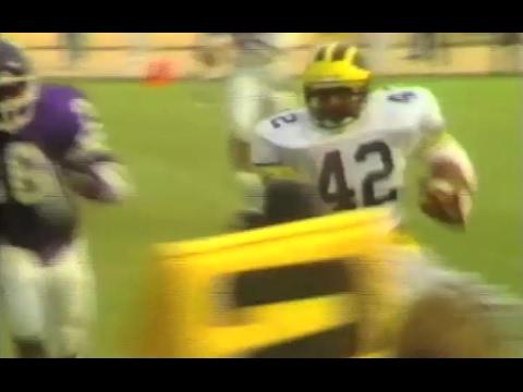1988 Northwestern Michigan Tony Boles TDs - YouTube f21b06f60
