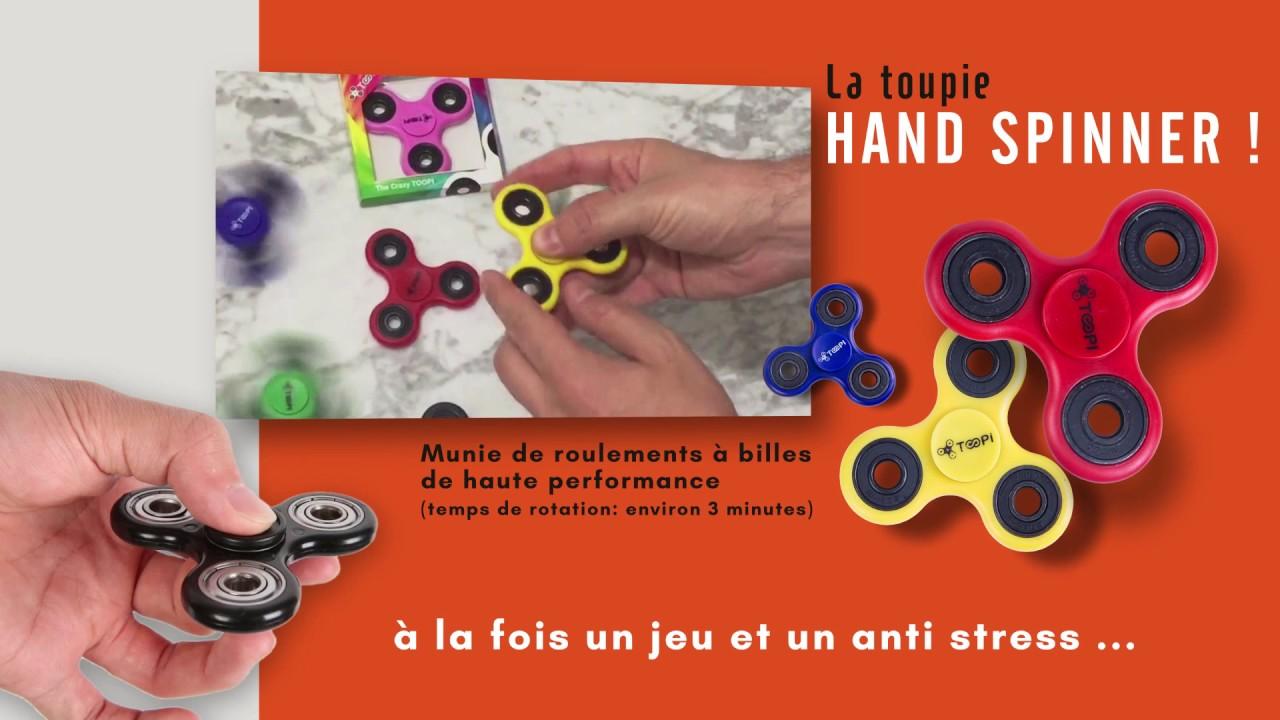 Cpop toupie anti stress hand spinner communication par l 39 objet publicitaire youtube - Objet anti stress bureau ...