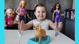 Barbie кукла. Секретный агент.Набор БАРБИ и собака.