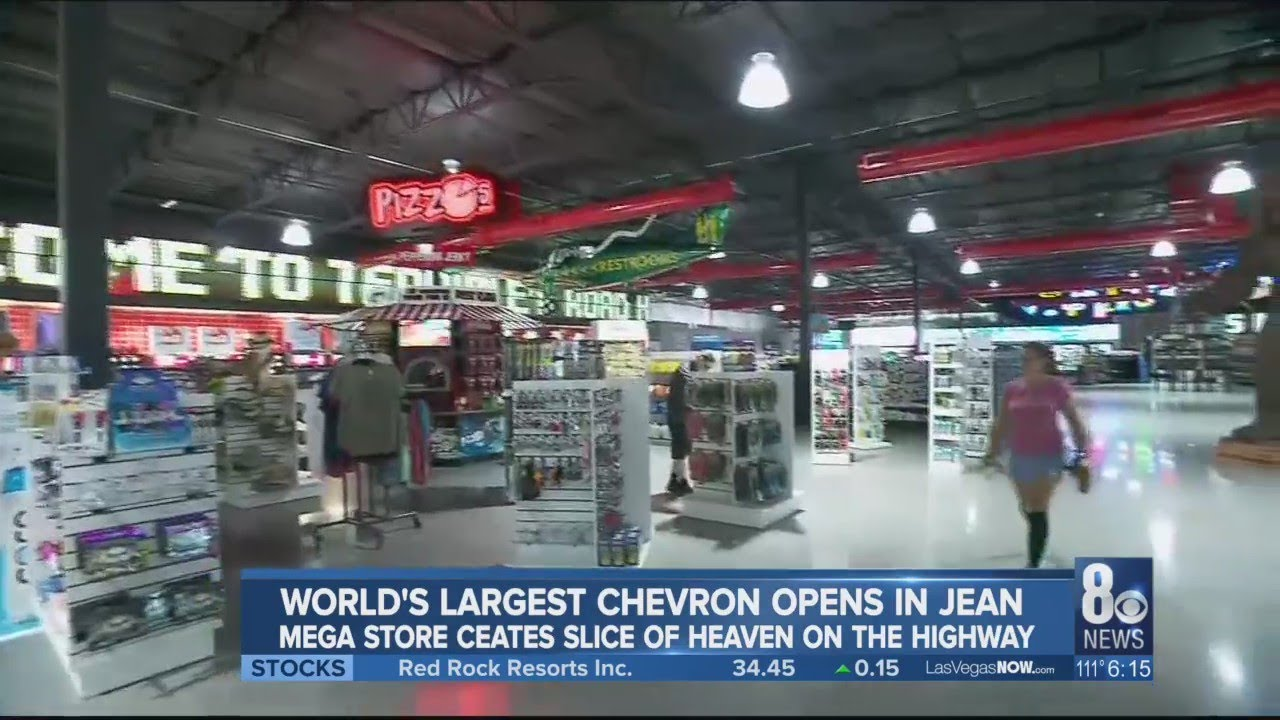 World's largest Chevron opens in Jean