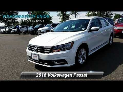 Certified 2016 Volkswagen Passat 1.8T S, Union, NJ GC021391
