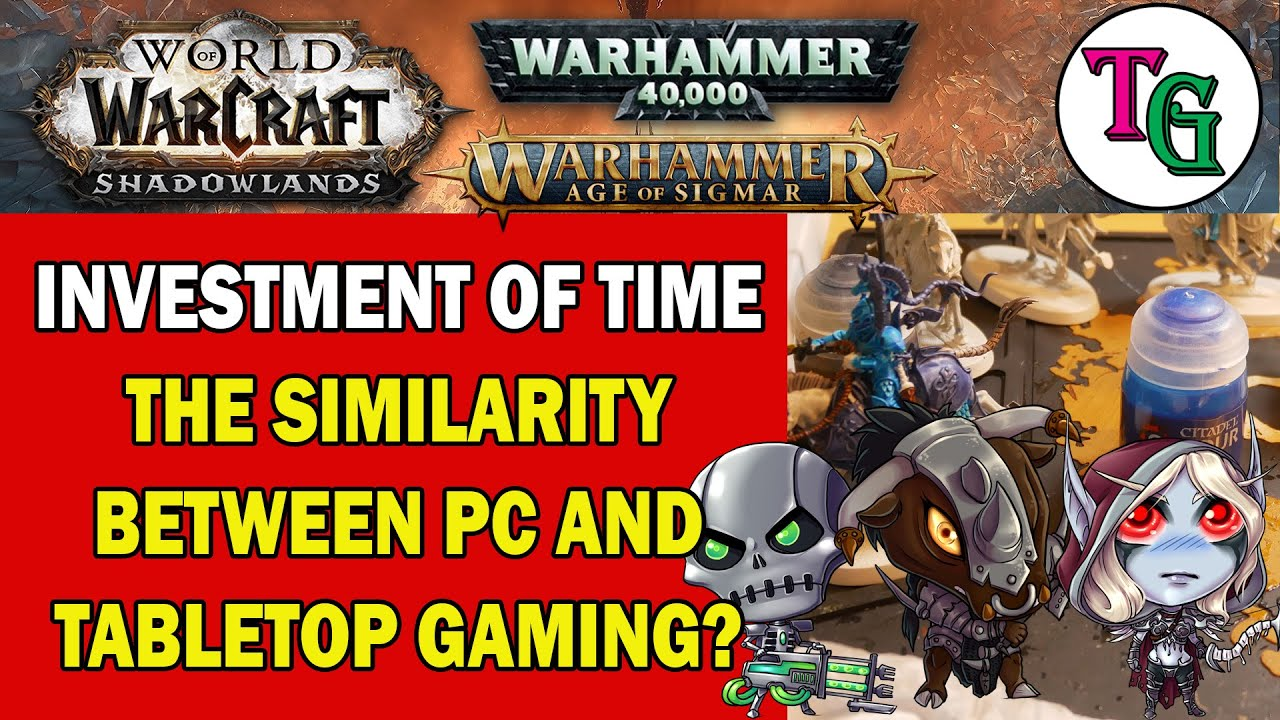 The Main Similarity Between Competitive Tabletop and PC MMO Gaming?