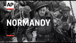 Normandy - 1944   Movietone Moment   11 June 2021