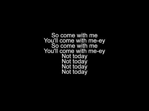 Not Today - Imagine Dragons (lyrics video)