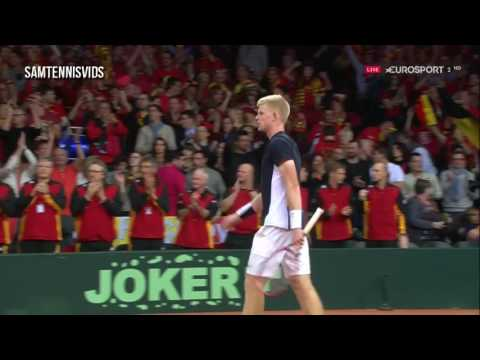 Davis Cup 2015 Final Kyle Edmund Vs David Goffin