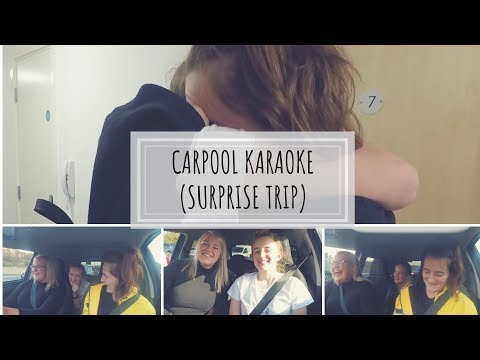 Carpool Karaoke SURPRISE VISIT