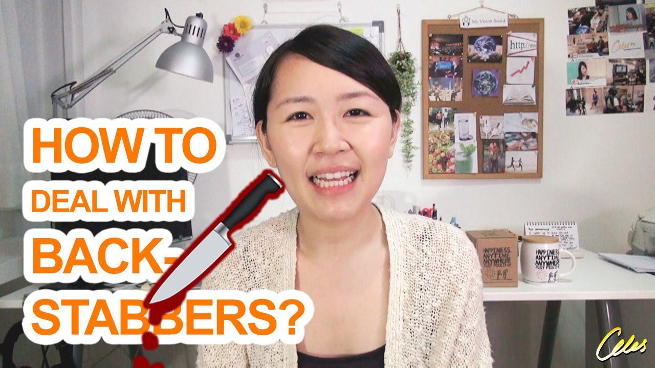 how to deal backstabbers how to deal backstabbers