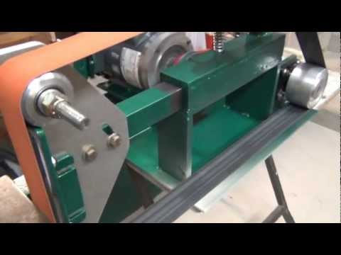 Homemade Belt Grinder Youtube