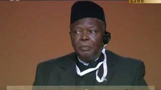 Alhaj Usman Nooruddin Jah, Former Minister of State, Sierra Leone at Jalsa 2011