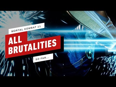 Mortal Kombat 11: All Brutalities So Far  (4K) thumbnail
