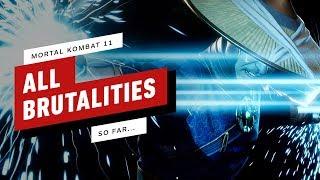 Mortal Kombat 11: All Brutalities So Far  (4K)