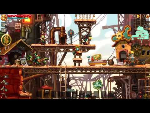 SteamWorld Dig 2 -18- Random Destruction |