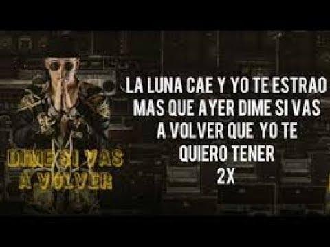 Bad Bunny - Dime Si Vas A Volver (Audio + Letras)